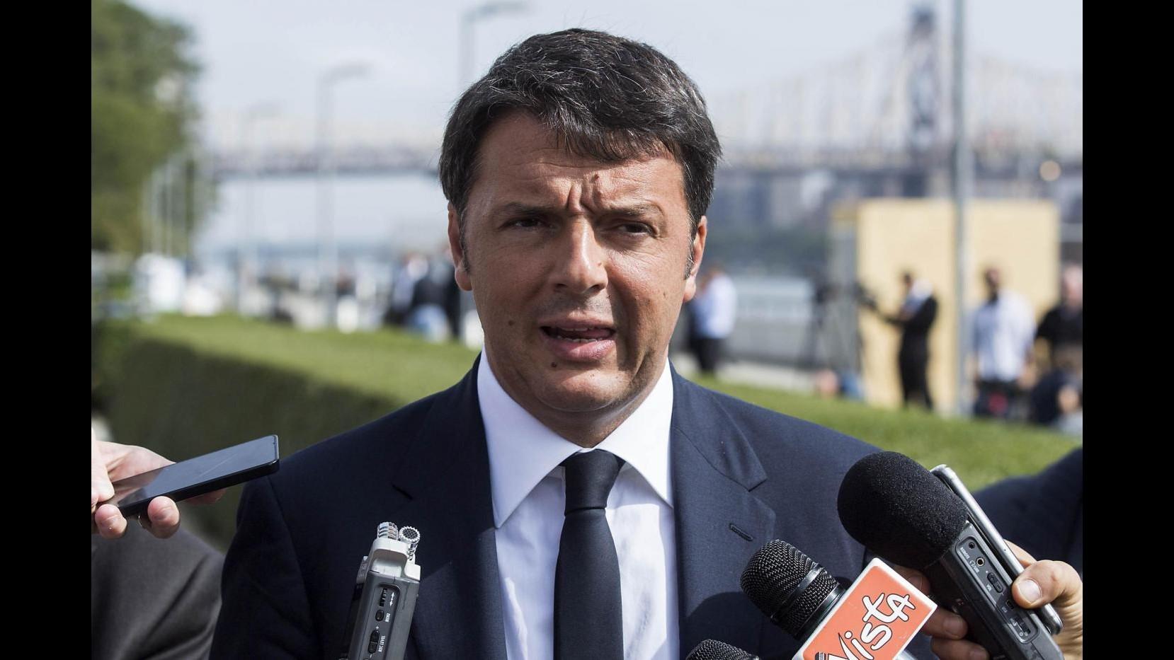 Renzi: La Russia è cruciale, ma rispetti il Protocollo di Minsk