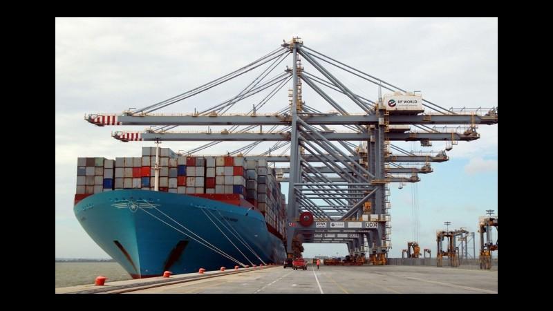 Istat, cresce l'export annuo (+9%), avanzo commerciale sale a 3,7 miliardi