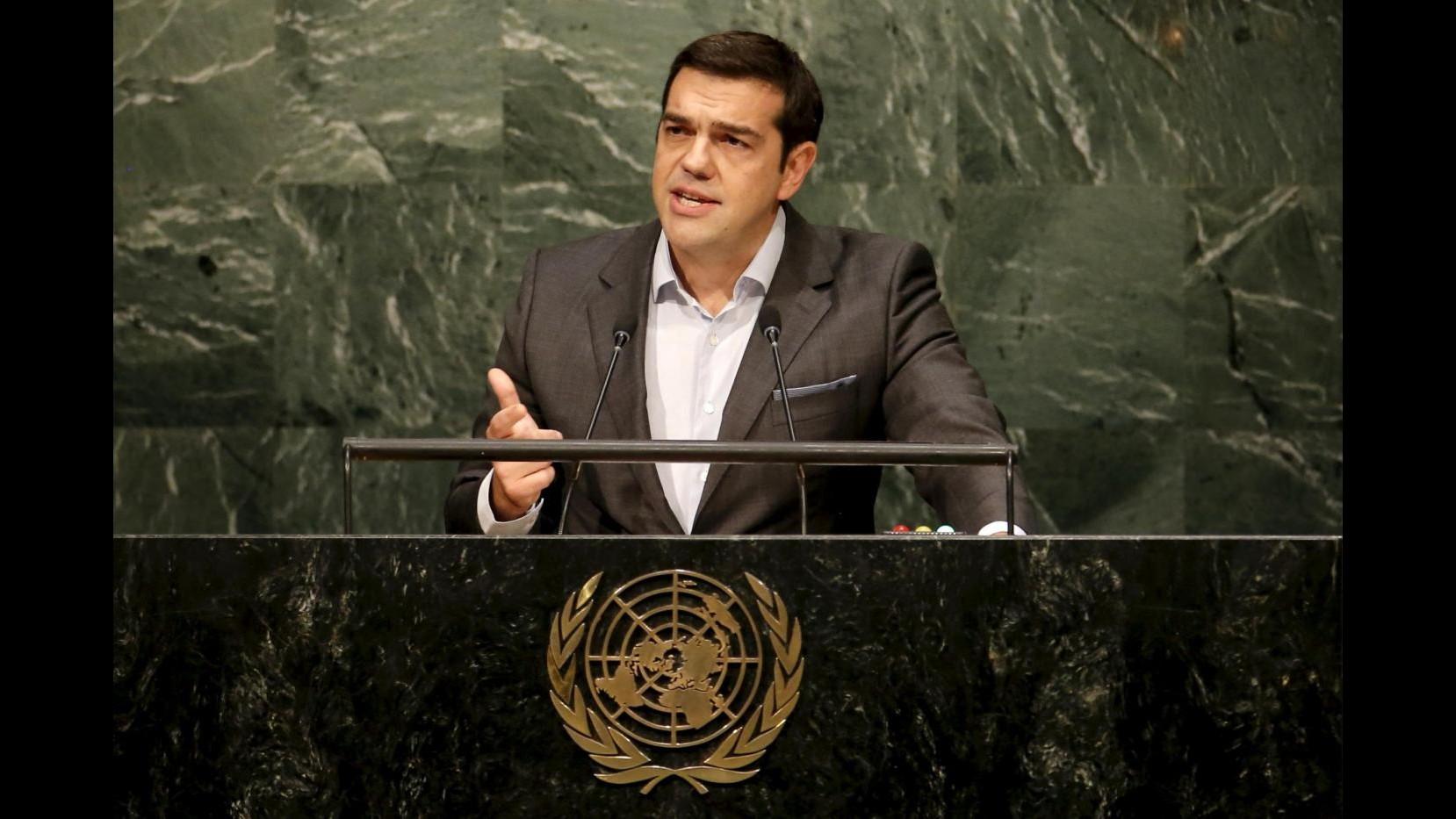 Dopo l'intervento all'Onu, a spasso con Alexis Tsipras per le strade di New York