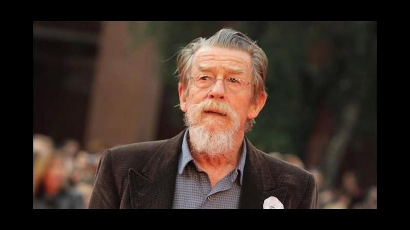 Diagnosticato un cancro al pancreas all'attore John Hurt