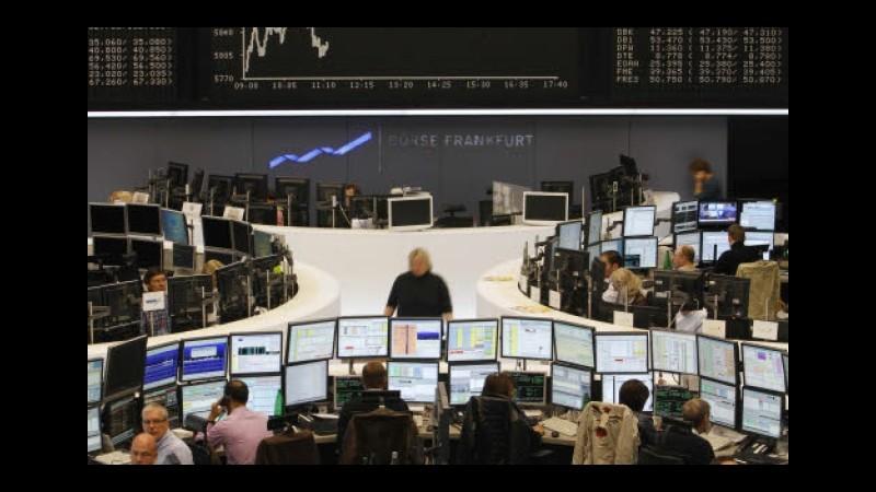Borsa, listini europei aprono in rialzo: Francoforte +2.21%