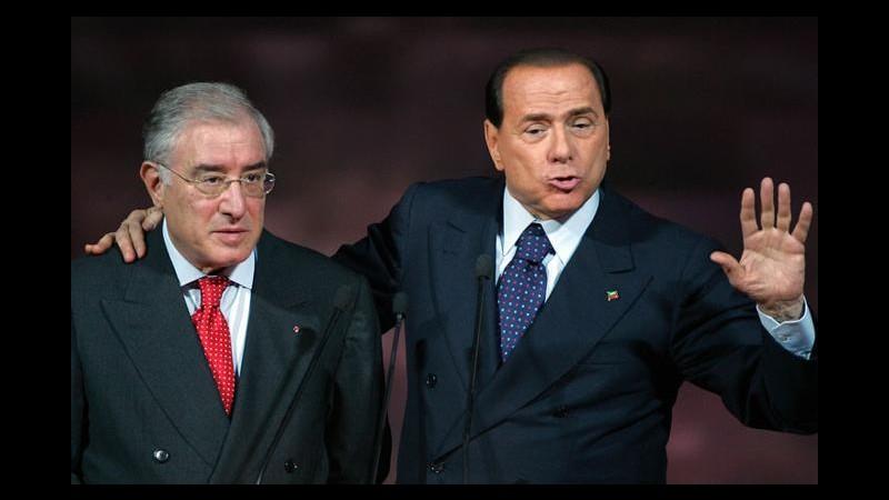 Stop ai vitalizi per 8 ex senatori: ci sono anche Silvio Berlusconi e Dell'Utri