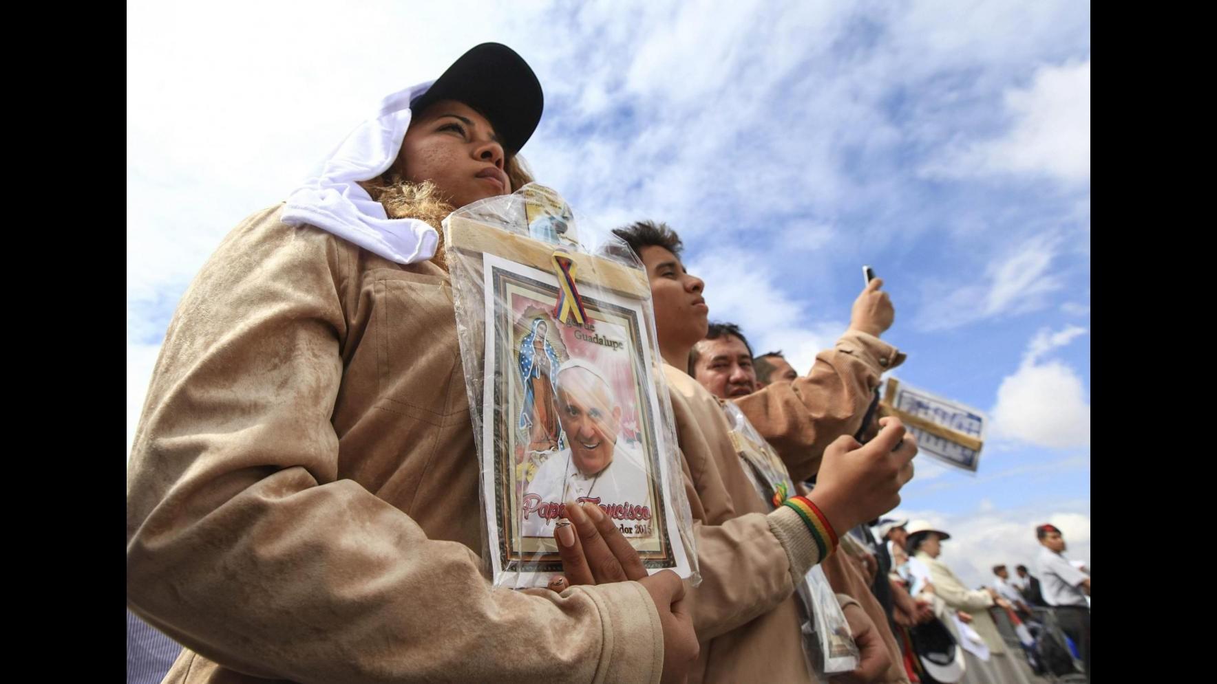 Papa: Necessarie riforme in Sudamerica per allontare il ricordo delle dittature