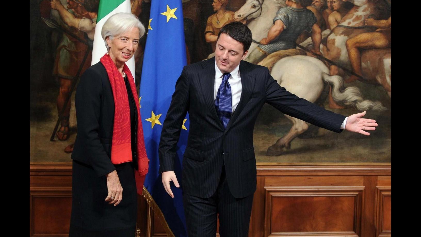 Il Fmi conferma le stime per l'Italia, +0,7% nel 2015. Ma è una crescita debole