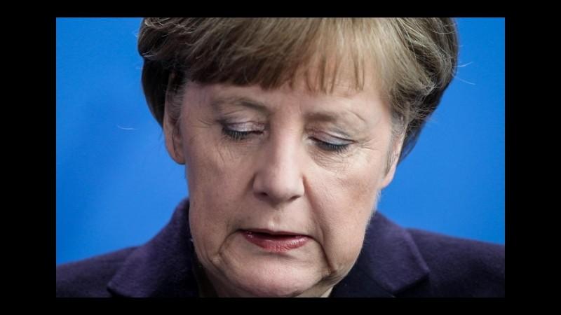 Crisi greca, Merkel: Abbiamo preso atto della decisione del popolo greco