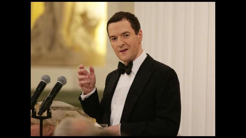 Grecia, Osborne: Rischio di un rapido deteriorarsi della situazione