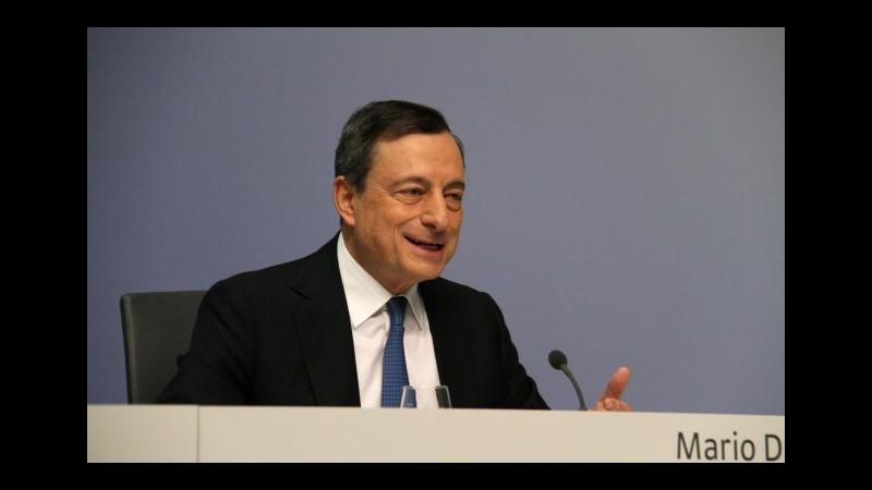 Bce, a fine giugno acquistati titoli italiani per 31,6 miliardi