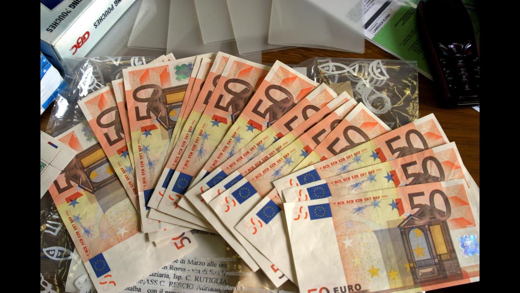 Napoli, scoperto laboratorio banconote false: sequestrati 9 milioni