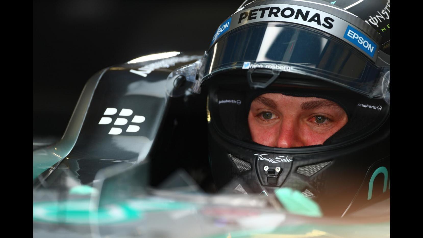 F1, seconde libere Gp Silverstone: domina Rosberg davanti alle Ferrari