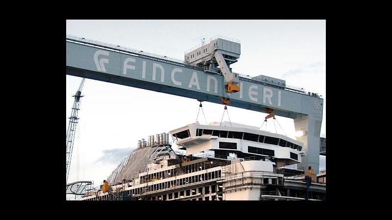 Finmeccanica-Fincantieri: Contratto da 1,1 miliari per unità anfibia della Marina
