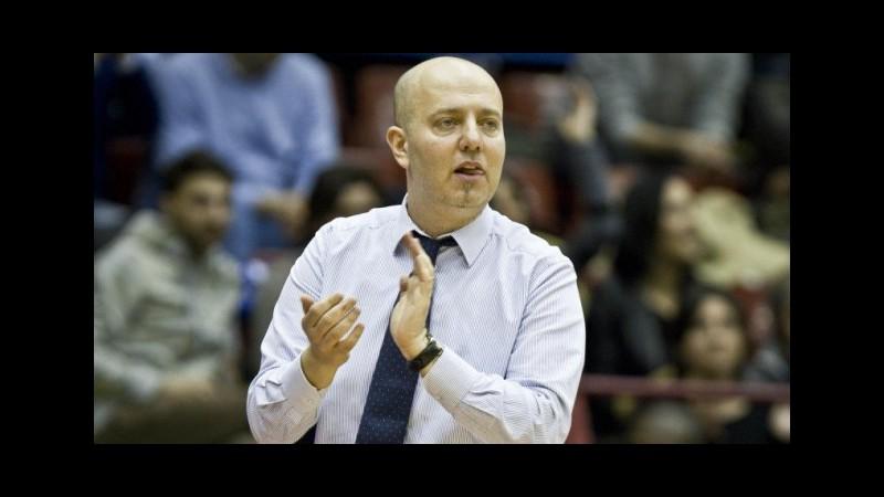 Basket, Reggio Emilia rinnova con coach Menetti fino al 2017