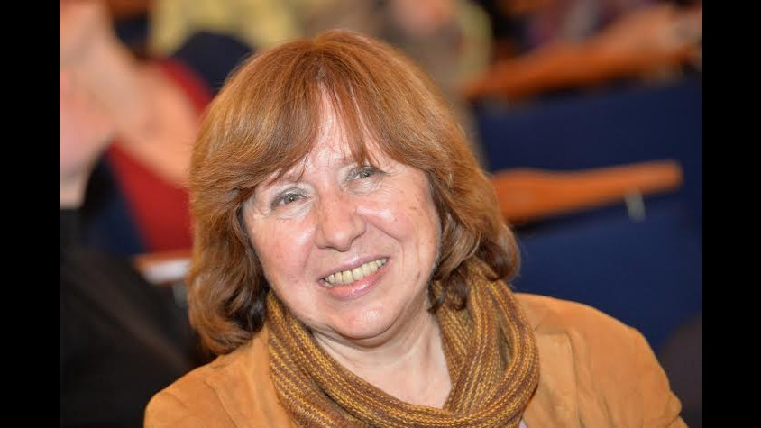 Il Premio Nobel per la Letteratura 2015 alla scrittrice bielorussa Svetlana Aleksievic