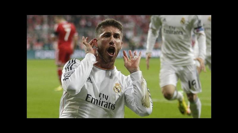 Stampa inglese sicura: per Sergio Ramos sfida tra club di Manchester
