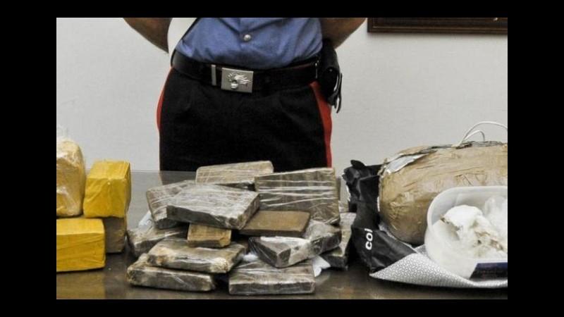 Roma, droga nei giornali: edicolante arrestato dalla polizia