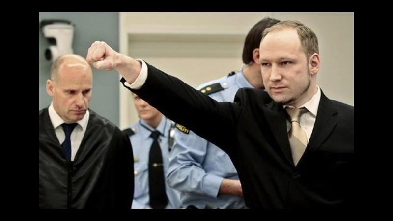 Norvegia, Breivik ammesso a Università Oslo: studierà Scienze politiche