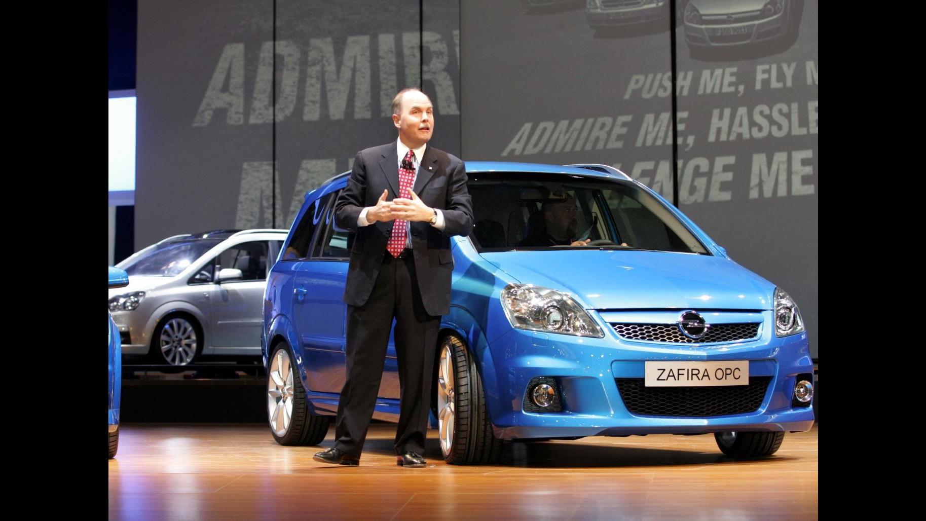 Ong tedesca accusa la Opel: Emissioni diesel della Zafira oltre il limite