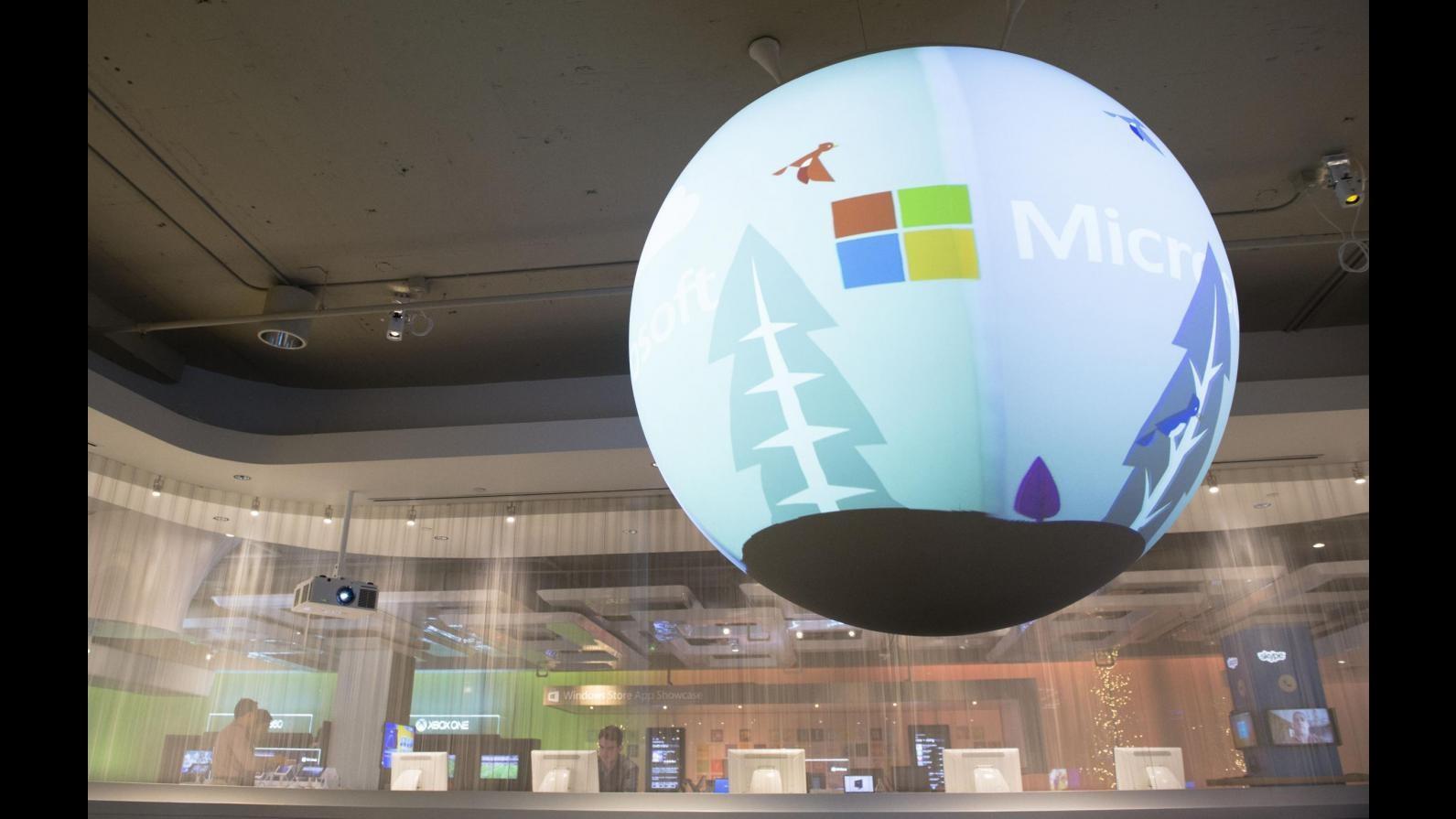 Microsoft, utile trimestrale supera attese: ricavi pari a 20,38 miliardi