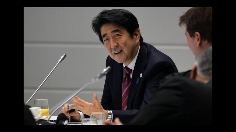 Giappone, stop al pacifismo: ok a legge per operazioni militari all'estero