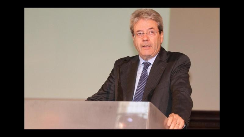Iran, il ministro Gentiloni: L'Italia rilancerà i rapporti commerciali