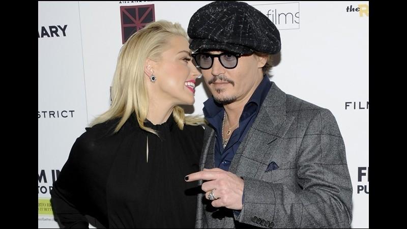 Contrabbando di cani, nei guai la moglie di Johnny Depp