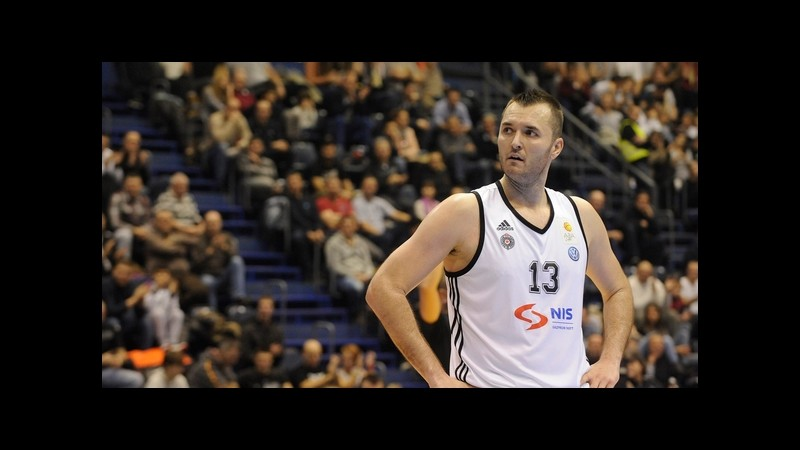 L'Olimpia Milano ingaggia Macvan dal Partizan Belgrado