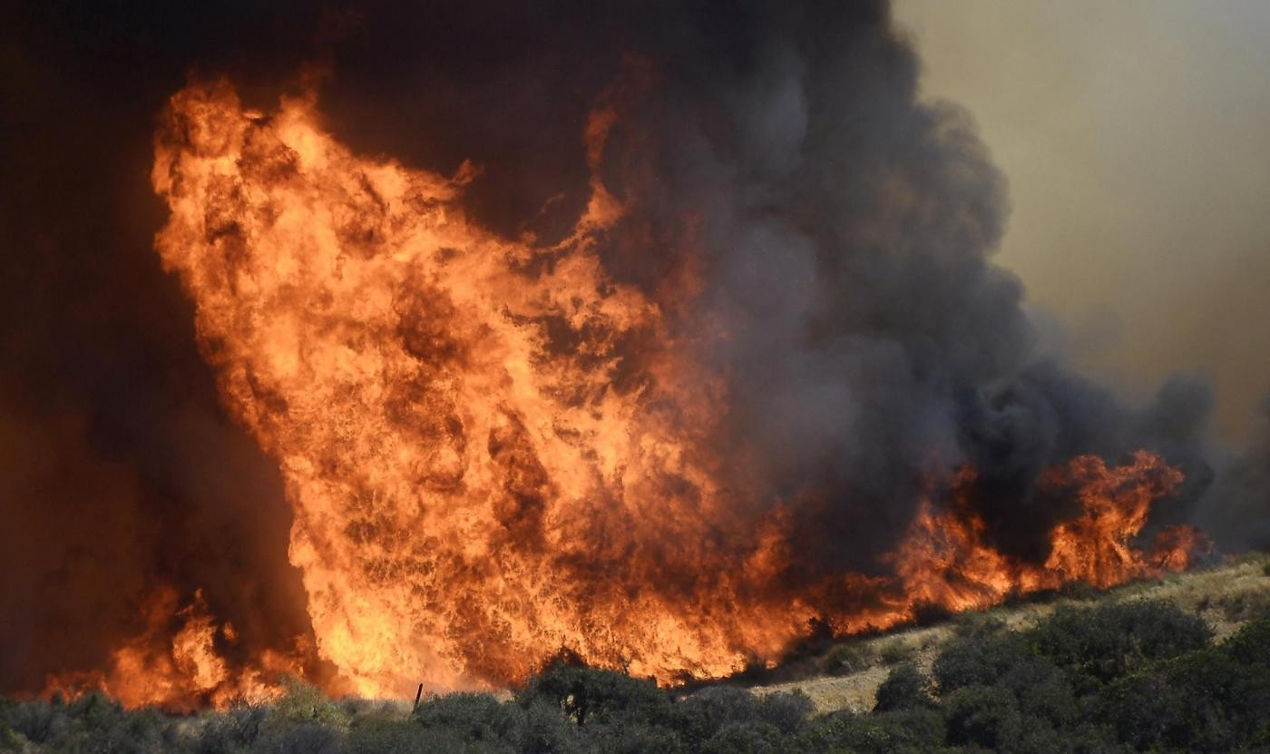Caserta, arrestato presunto piromane: avrebbe bruciato 25 ettari di terreno