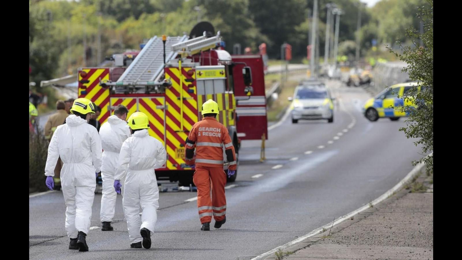 Regno Unito, schianto jet Usa nel Suffolk: morto il pilota