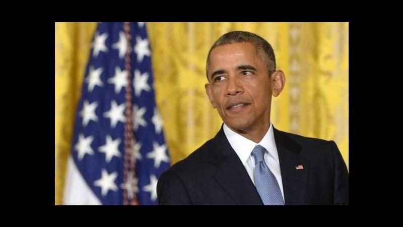 Iran, Obama: Se il Congresso si opporrà all'accordo porrò il veto