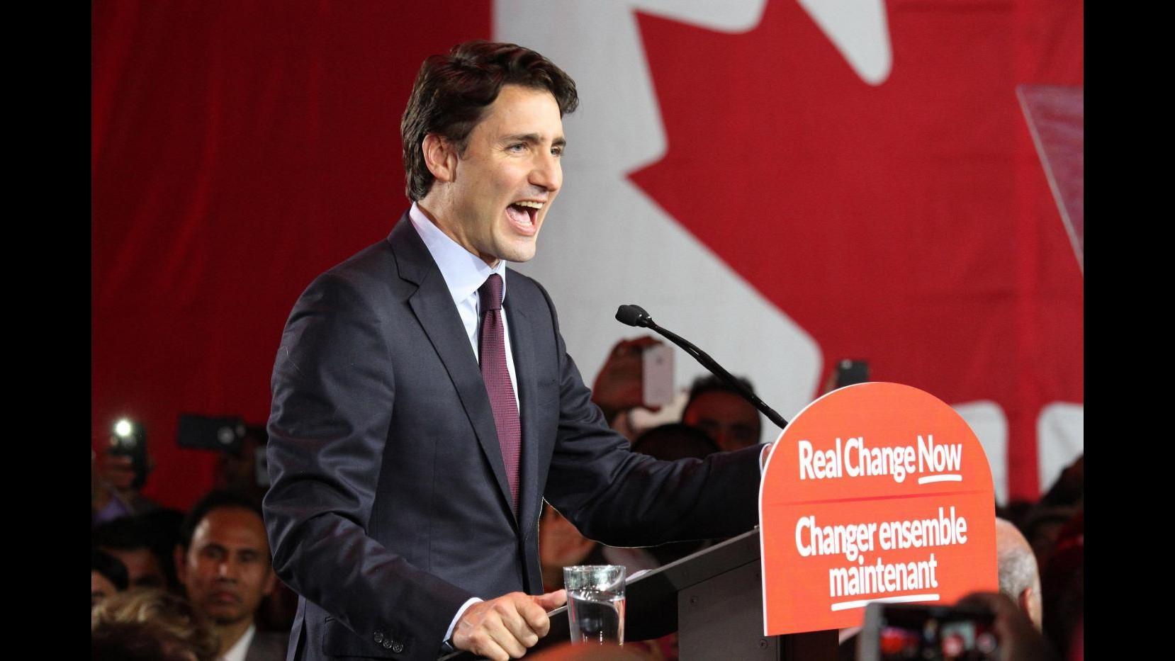 Canada, elezioni: Trudeau figlio riporta al potere i liberali
