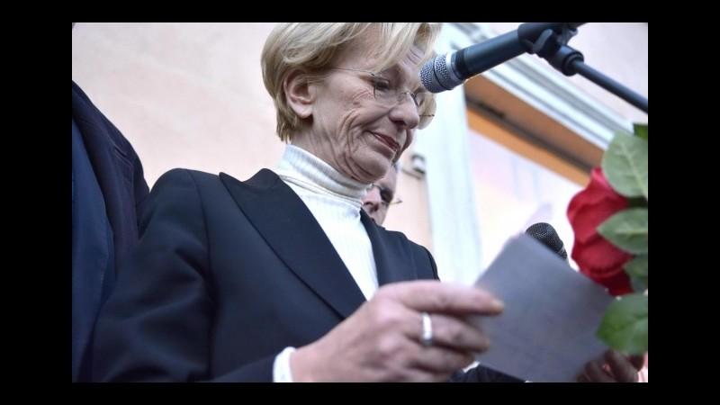 Assegnato a Emma Bonino il premio Mario Monicelli-libero pensiero