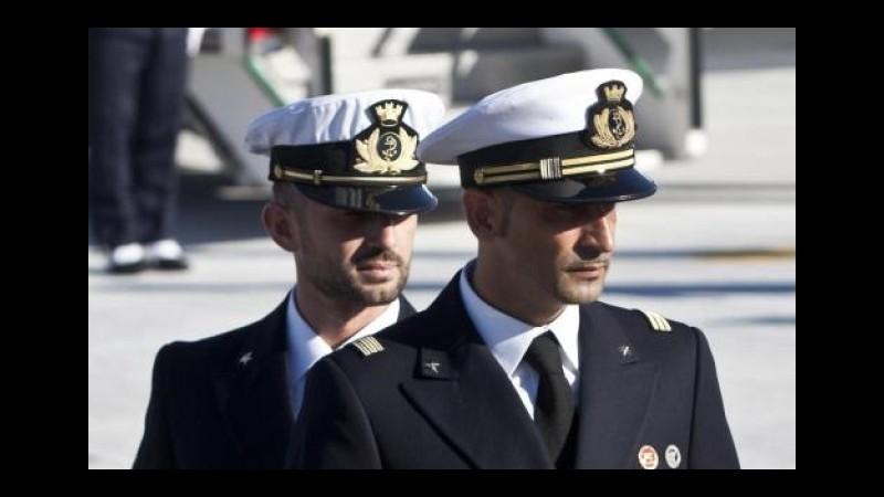 Marò, Latorre resta in Italia. La Farnesina: Faremo rientrare anche Girone