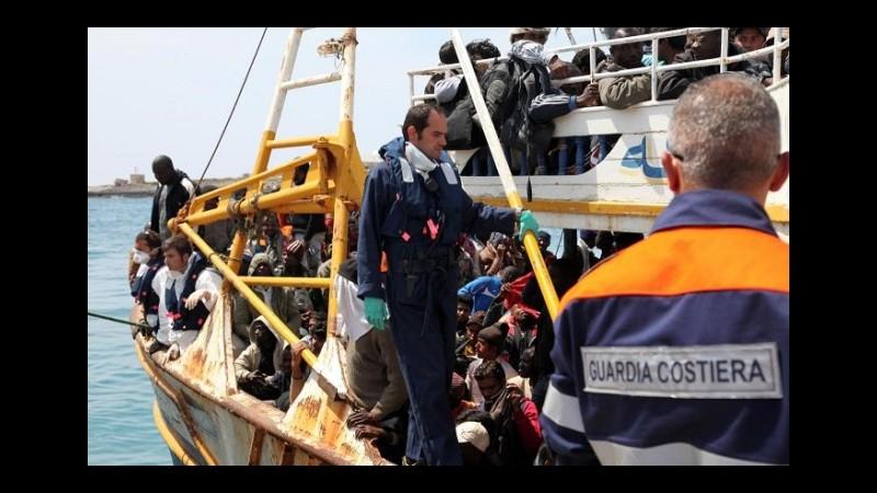 Sbarchi, ieri salvate 540 persone in 4 operazioni di soccorso