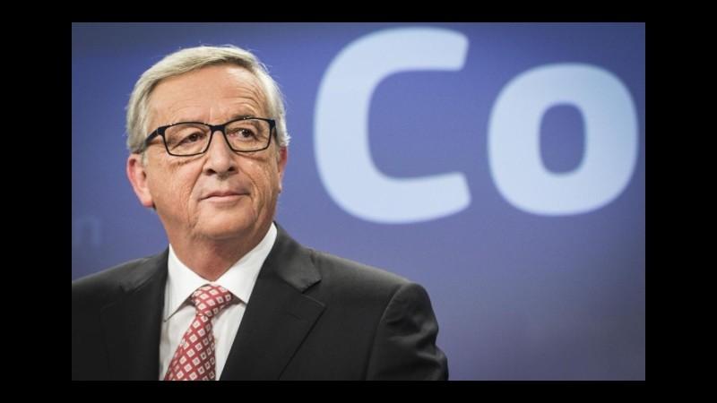 Srebrenica, Juncker: Genocidio ha lasciato cicatrici in Bosnia e Ue