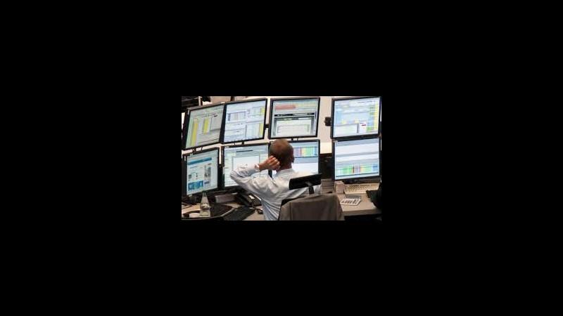 Borsa, chiusure tutte in netto rialzo in Europa: Francoforte +2.9%