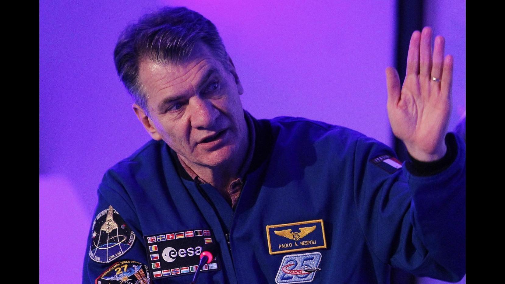 Nespoli tornerà nello spazio per la terza volta. Missione nel 2017 a 60 anni