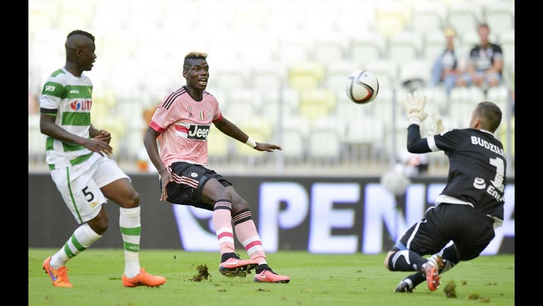 Amichevole Danzica-Juventus 1-2, in gol Pogba e Mandzukic