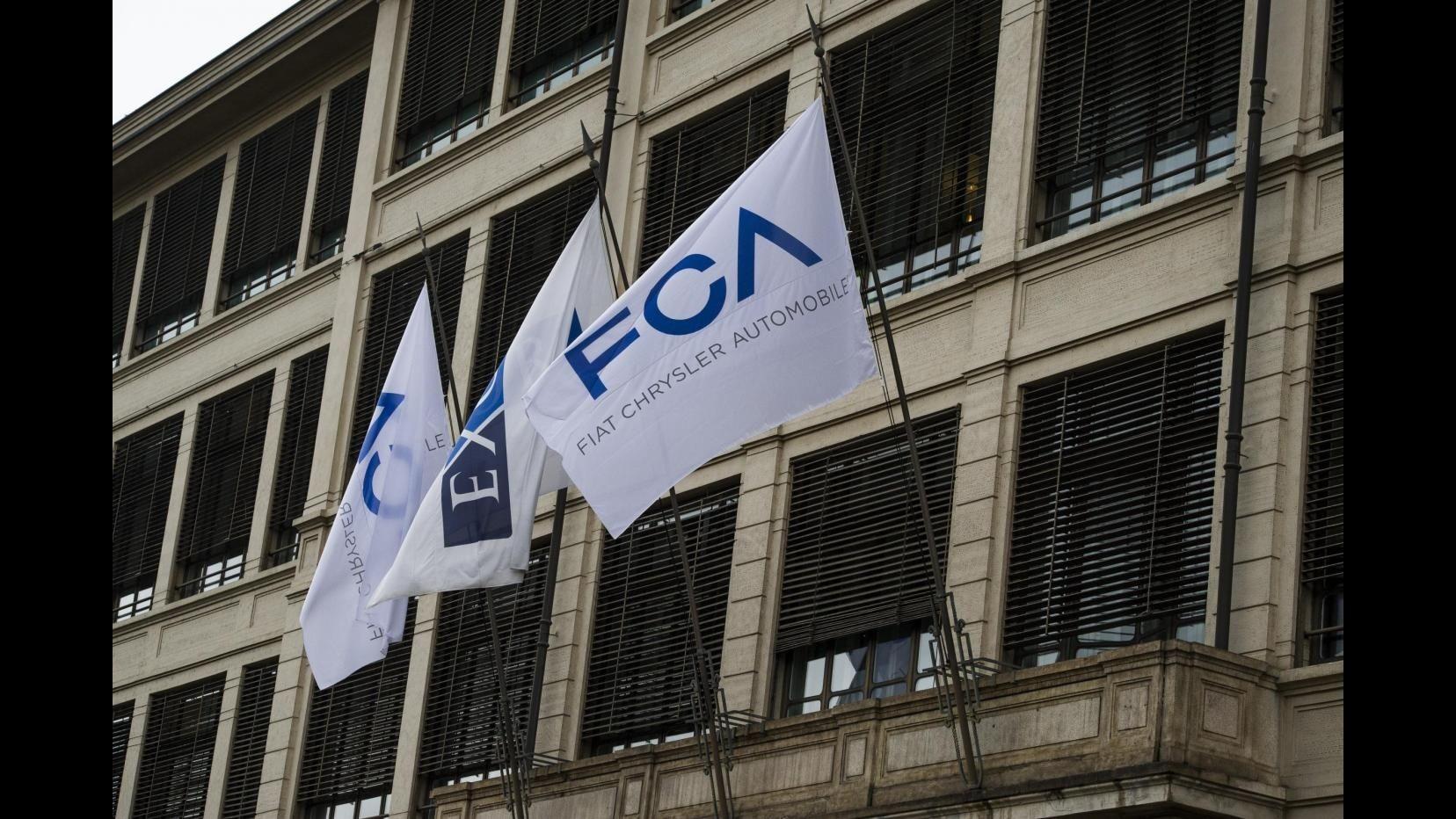 Fca, immatricolazioni Italia +10,8% a ottobre, in 10 mesi +16,9%