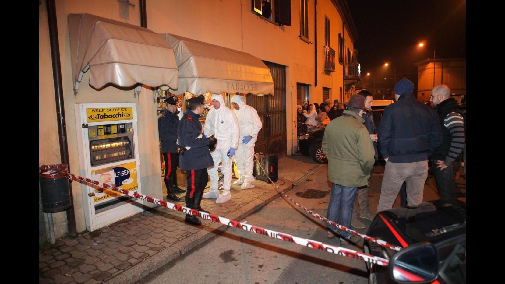 Tabaccaia uccisa ad Asti: l'assassino è un 46enne italiano. Il movente è la rapina