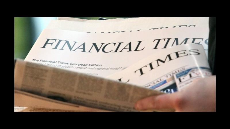 Editoria, Pearson valuta la vendita del Financial Times
