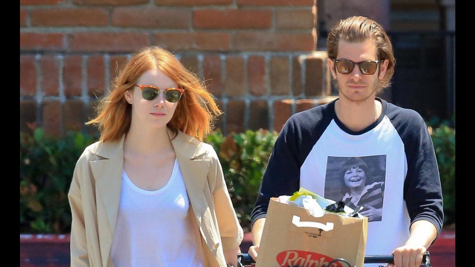 Emma Stone e Andrew Garfield si sono lasciati dopo 4 anni