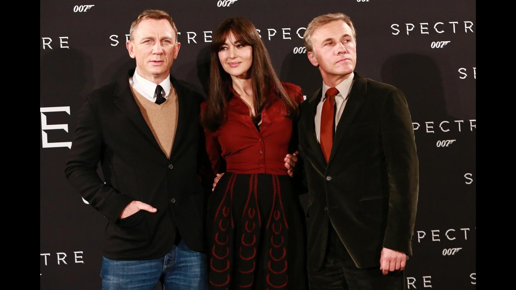 Spectre, a Roma l'ultimo Bond. Red carpet con Craig e Bellucci