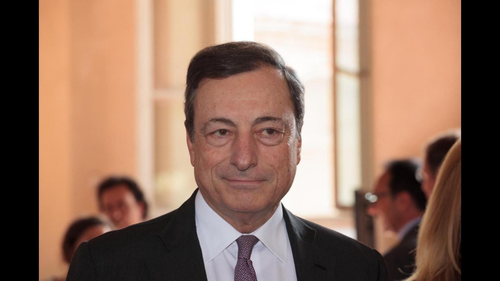 Bce, Draghi: Ripresa eurozona moderata, ma più forte che in passato