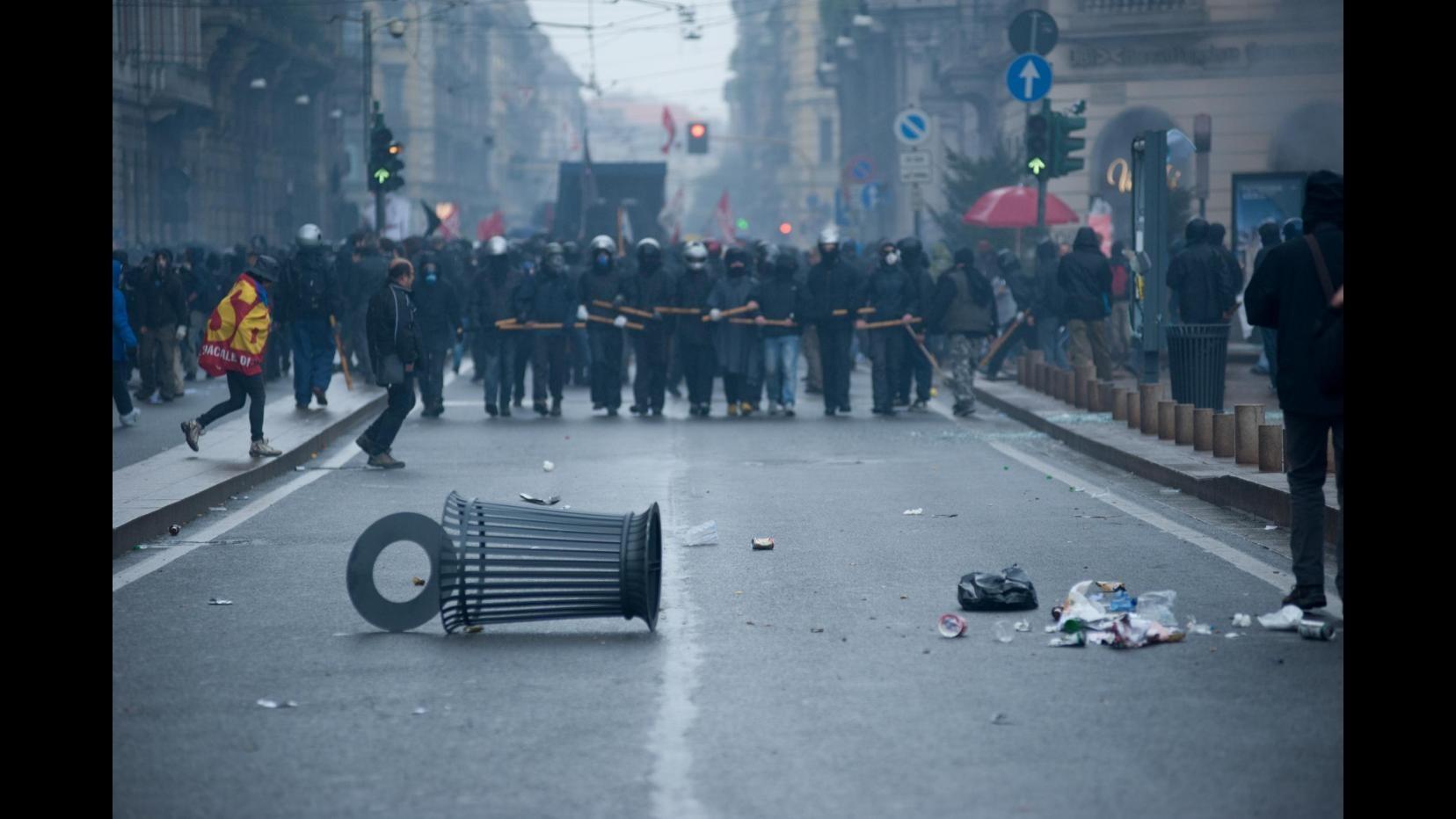 Milano, corteo NoExpo del primo maggio: otto arresti, cinque indagati