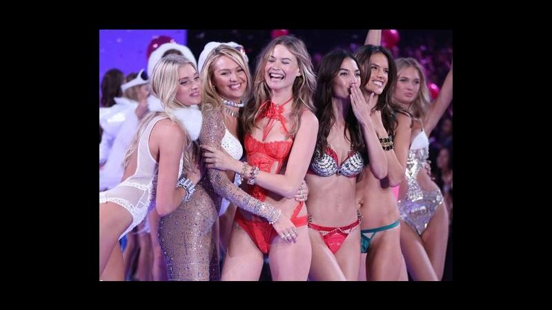 Gli angeli di Victoria's Secret sfilano a New York