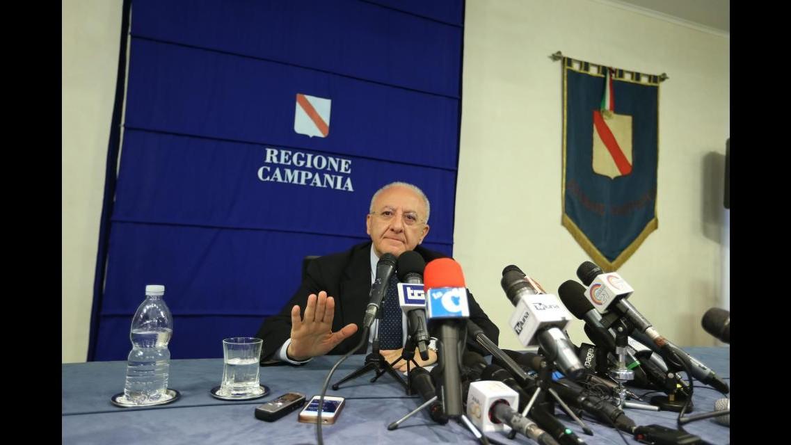 Campania,De Luca il 29 ottobre chiese di essere ascoltato da giudici