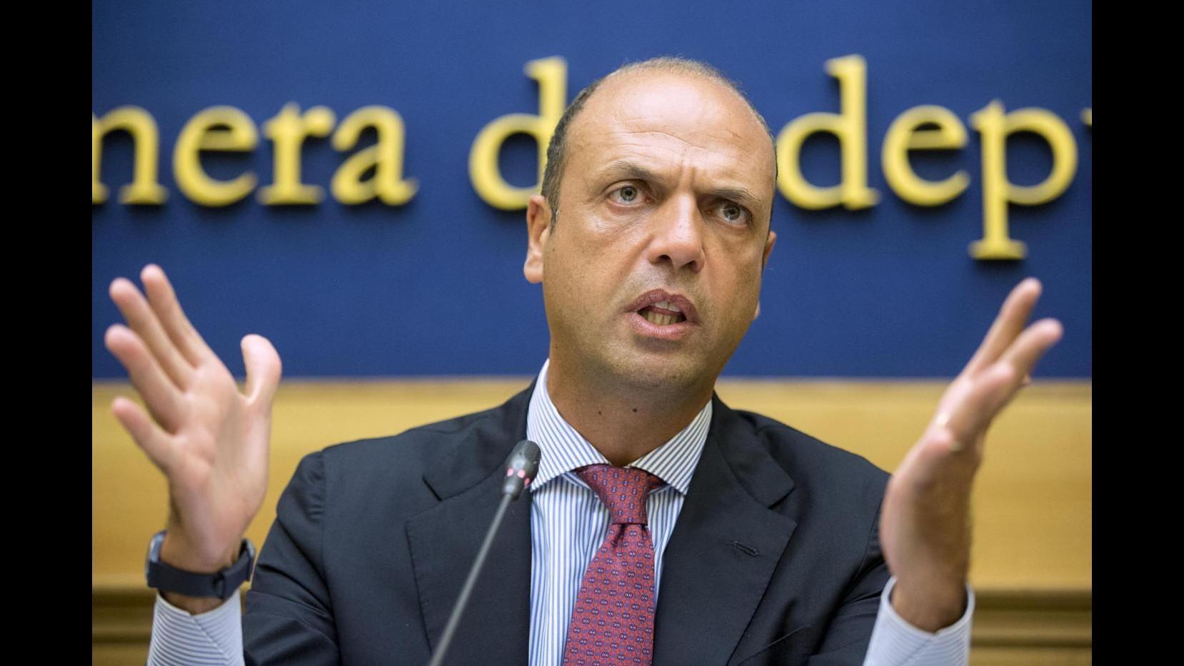 Giubileo, Alfano: Pronti per sfida, raccordo polizia-intelligence funziona