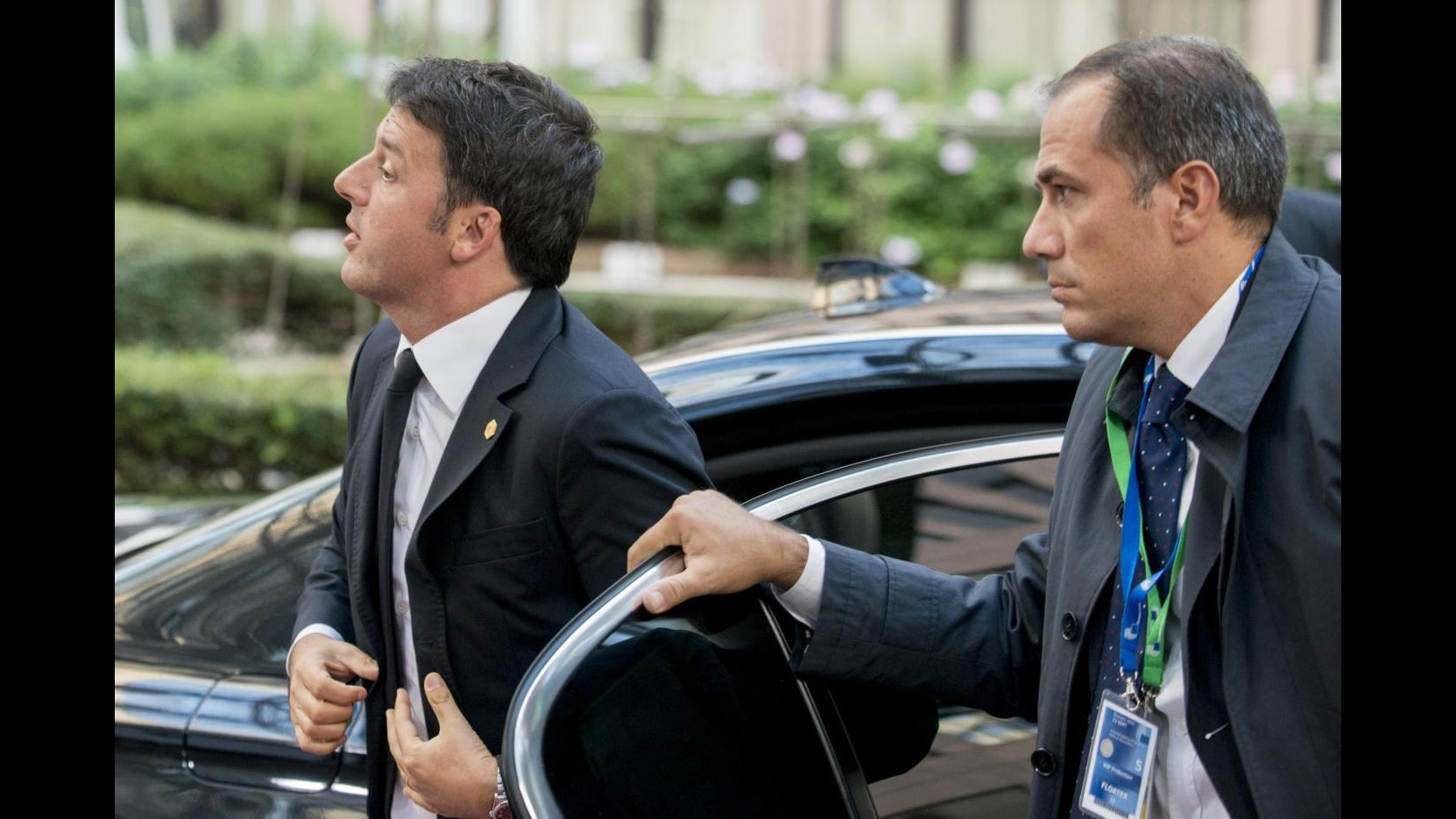 Renzi a Riad visita cantiere metropolitana: Basta polemiche. Rendere Italia solida