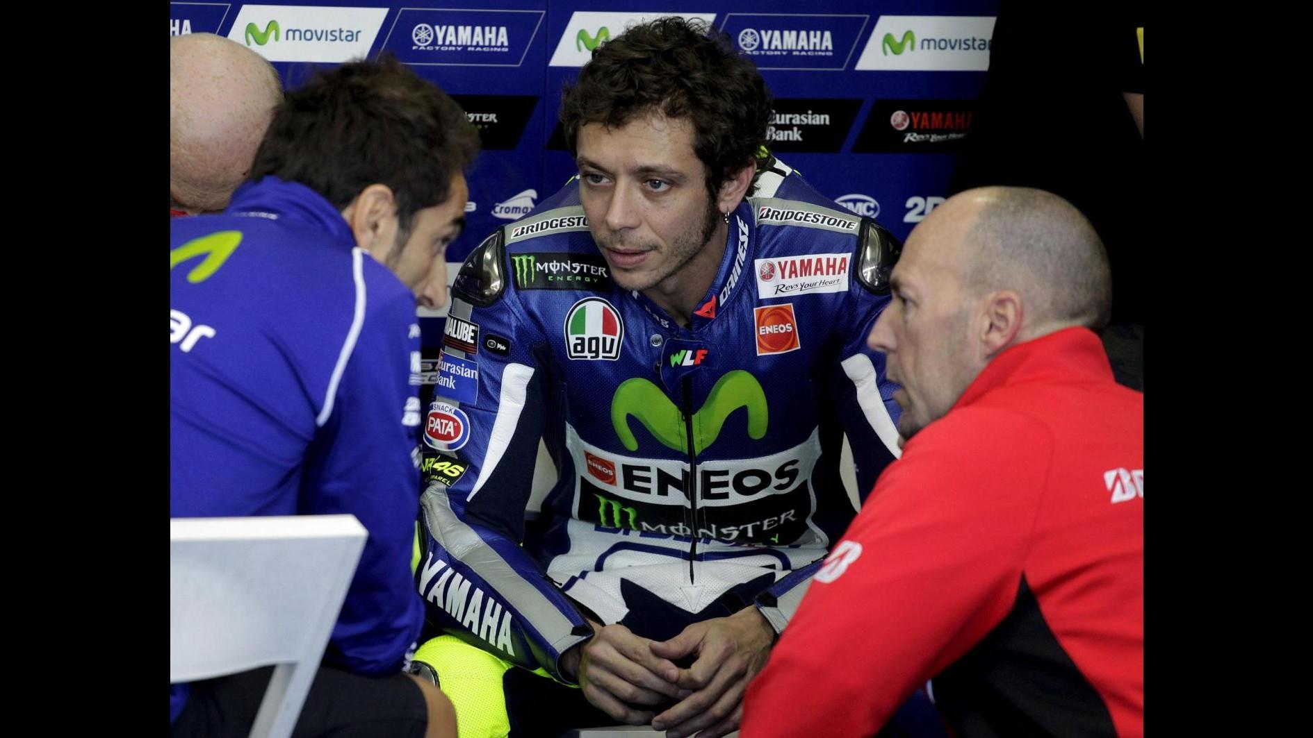 MotoGp, Rossi: Lorenzo e Marquez hanno fatto un 'biscottone'