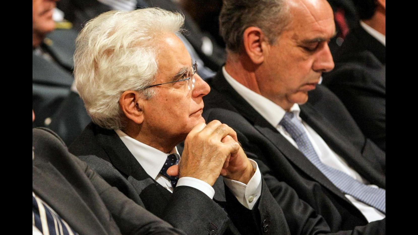 Mattarella: Diritto internazionale è soluzione per sicurezza mari