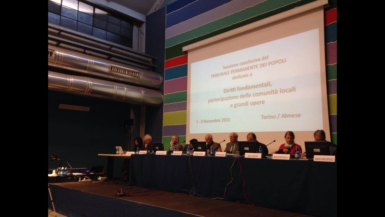 Tav, a Torino il Tribunale dei popoli: valuterà se violati i diritti cittadini